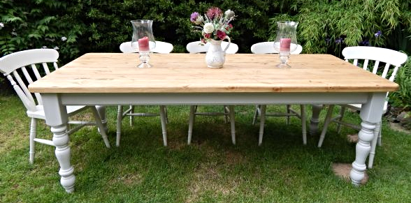 7ft Classic Farmhouse Table
